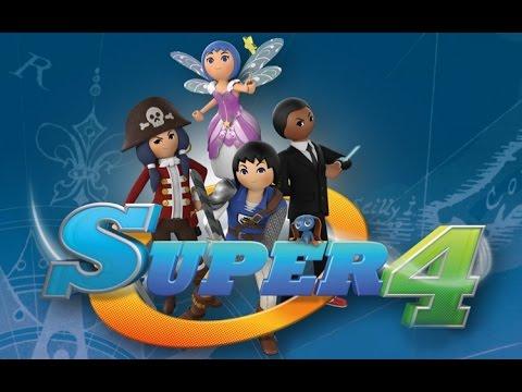 Présentation D'un Livre Et D'un Personnage Playmobil Super 4