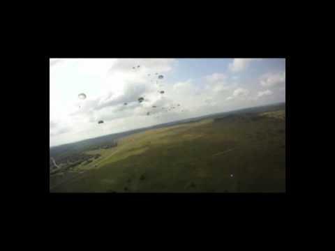 173rd Airborne Brigade Training Drop Helmet Cam