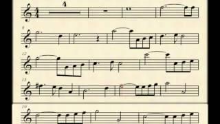Ave Maria (Bach_Gounod)  Partitura / Sheet music score