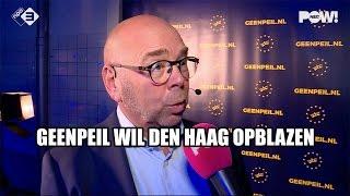 GeenPeil wil Den Haag opblazen