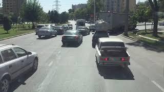 Дальнобой выгрузка в Душанбе Таджикистан возвращаюсь обратно выезжаю из города