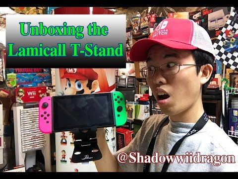 Unboxing Review of the Lamicall T-Stand for the Nintendo Switch, Phone, Tablet, and Other Devices