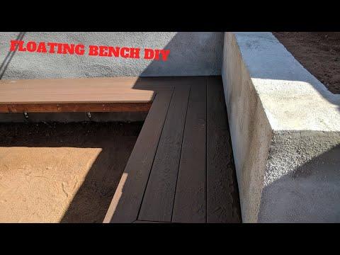 DIY Floating Bench Time Lapse
