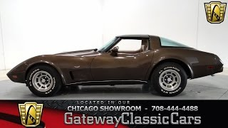 1979 Chevrolet Corvette Gateway Classic Cars Chicago #715