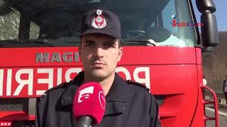 Accident cu 7 victime lângă Reşita - Doua in stare foarte grava