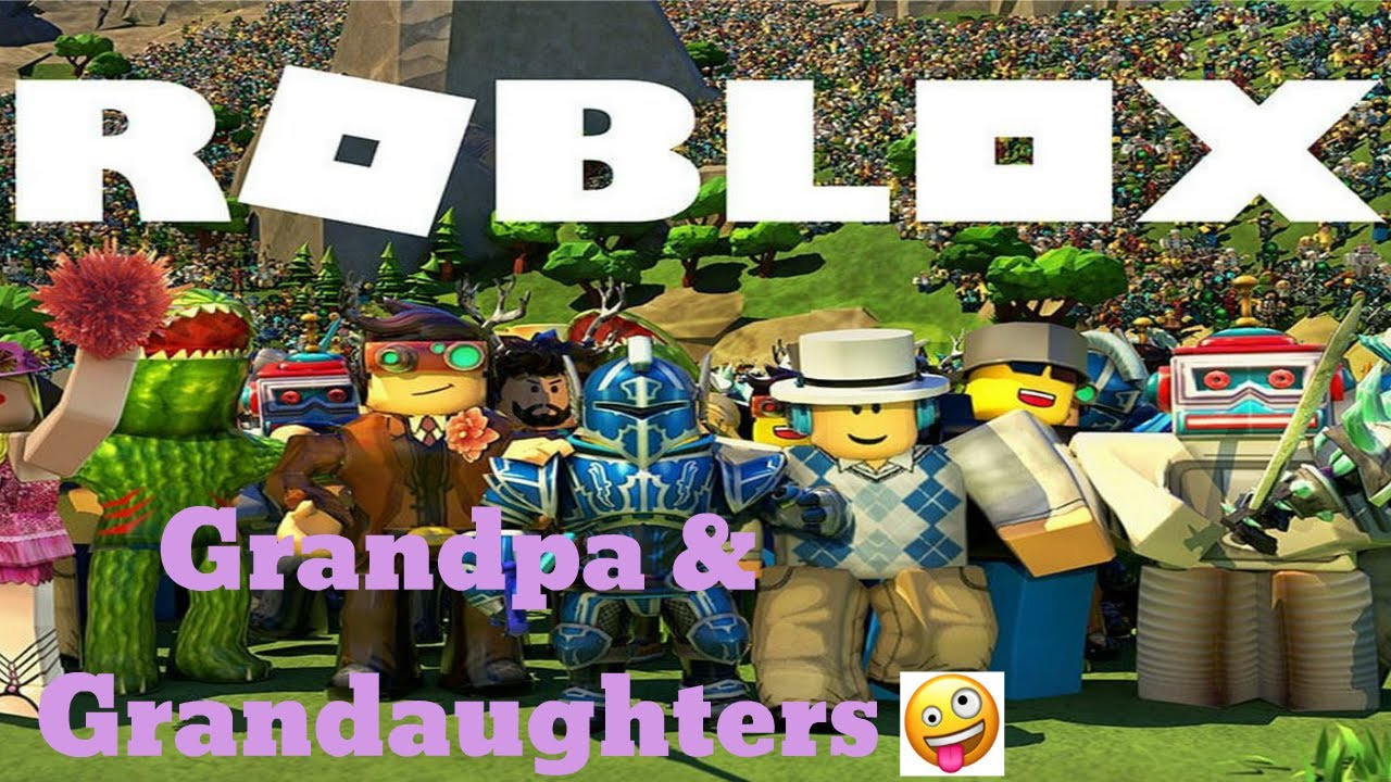 Funny Italian Song Roblox Come Have Fun Roblox With Grandpa Grand Kids Part 2 Youtube