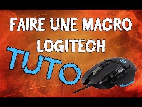 Logitech G502 - Comment faire des Macros avec les souris Logitech