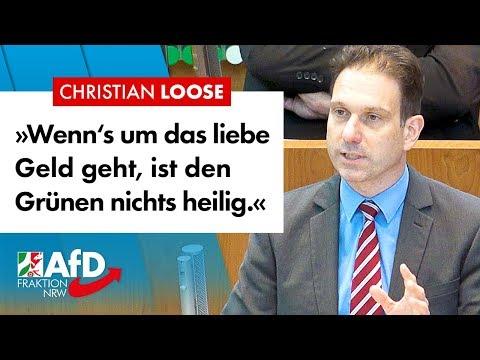 So läuft die grüne Masche – Christian Loose (AfD)