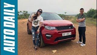 Đánh giá xe Land Rover Discovery Sport HSE Luxury qua chia sẻ của nữ Blogger An Xinh Trương