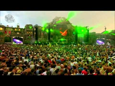 Hardwell Tomorrowland 2013 Years Animals