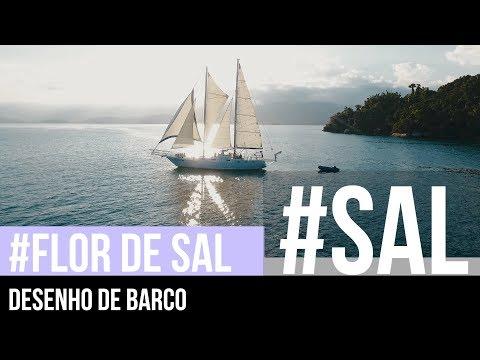 Desenho de barco | #FLOR DE SAL 5 | Como organizar a vida em um veleiro