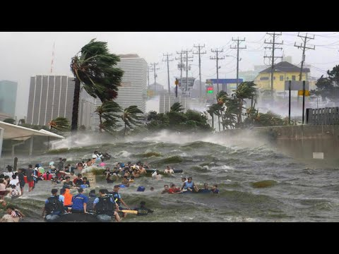 PANIC! 🌀 Tropical Cyclone Choi-wan across the Philippines. Storm Dante.