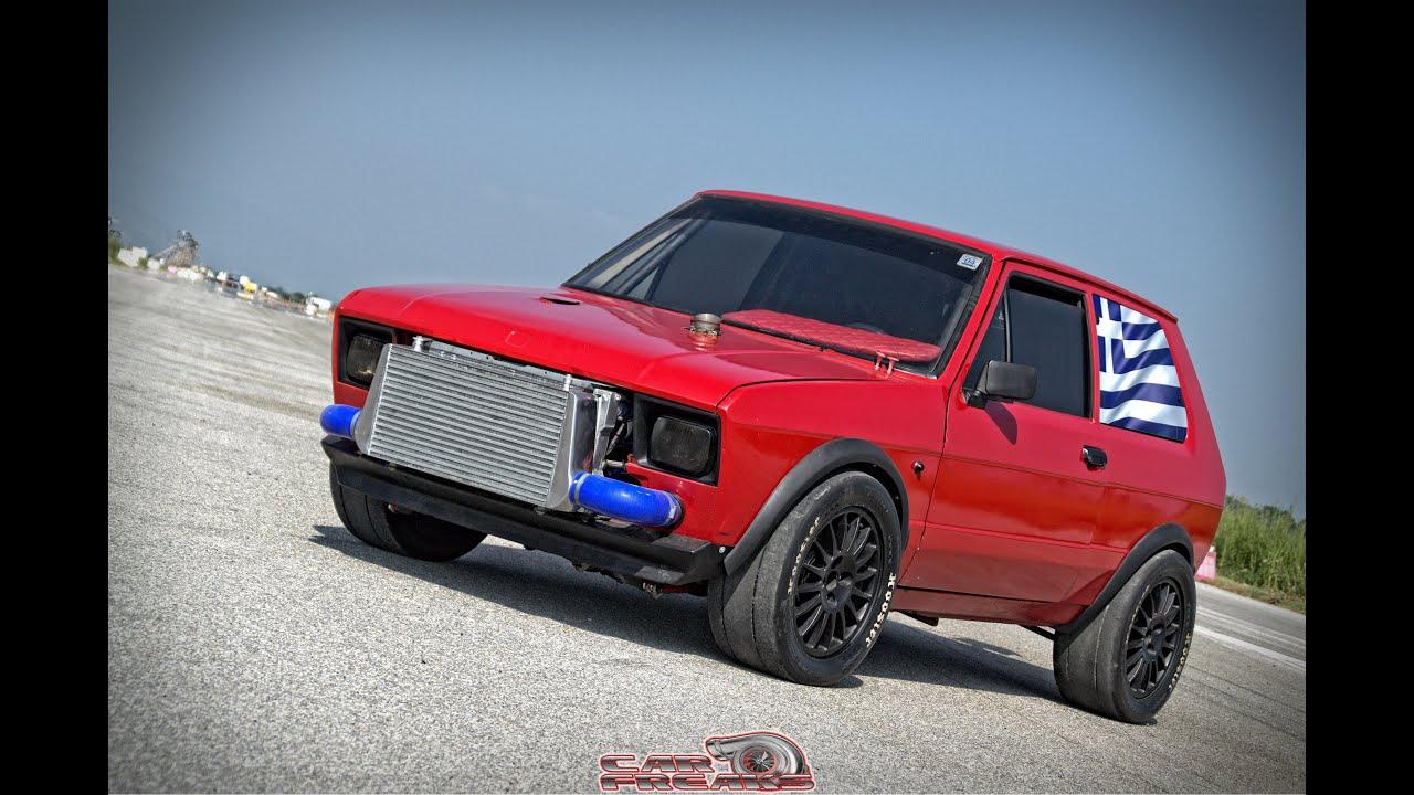 Car Freaks Gr: Yugo AWD 600+ Hp - YouTube