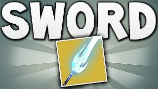 Destiny - SWORD HEAVY WEAPON !!