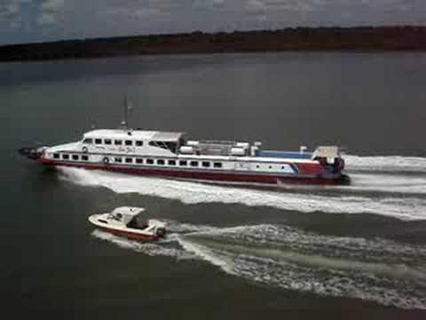 Express boat in Kuching