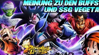 Meine Meinung zu SSG Vegeta und den Buffs! 🤔 Pan OP oder Piccolo, Krillin?   Dragon Ball Legends