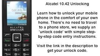Alcatel ot 2045x sim network unlock done