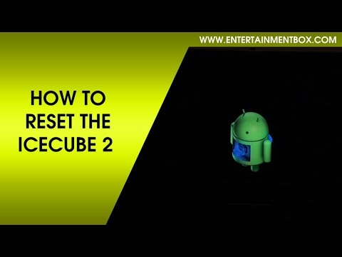 How to reset the ICECUBE 2 Android TV box, restore the icecube 2 TV box
