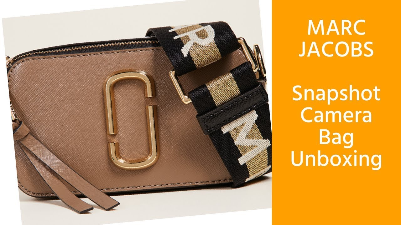 7ff30b3a095d Marc Jacobs Snapshot Camera Bag Review - YouTube
