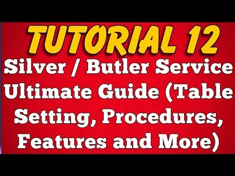 What is Silver Service -  Procedure Table Set Up Features (Tutorial 12)