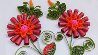 Quilling : Happy New Year in 2016 greeting cards
