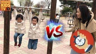 운동회 대결! 체력단련 월드컵 playground for kids l 엄마 vs 아이들 l kids sports battle challenge