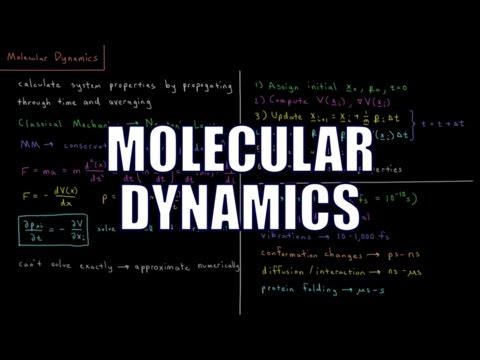Computational Chemistry 3.8 - Molecular Dynamics