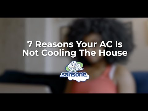 7 Reasons Your AC Is Not Cooling & What to Do About It | Sansone AC
