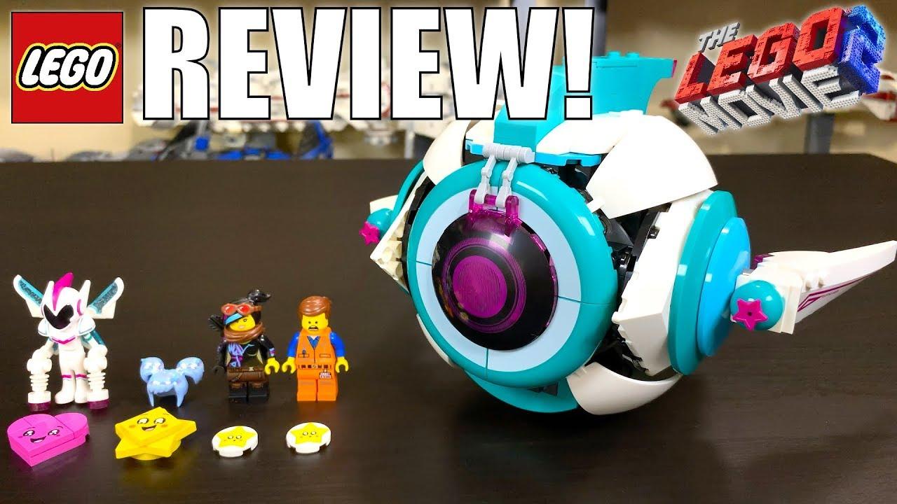 Lego Movie 2 Sweet Mayhem S Systar Starship Review Set 70830 Youtube