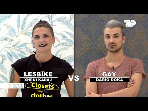 Lesbike vs Gay: Xheni Karaj përballë Dario Doka   Pop Culture 3
