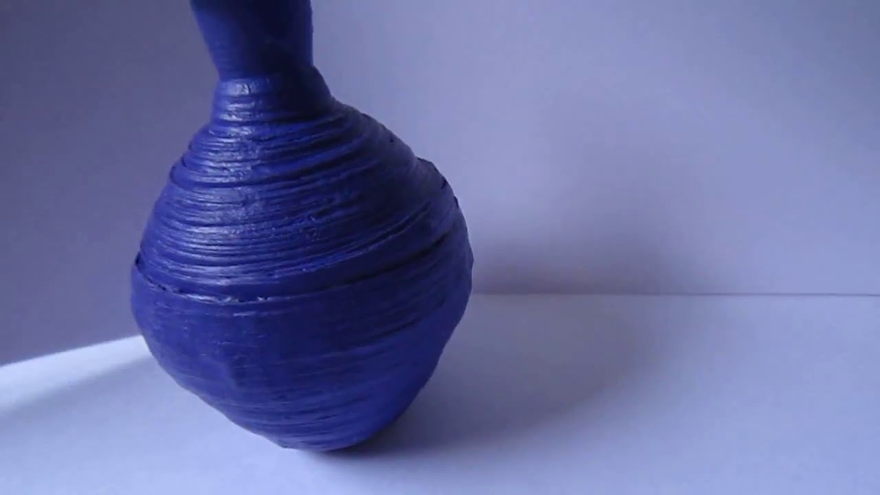 handmade decorative paper pot   youtube - handmade decorative paper pot