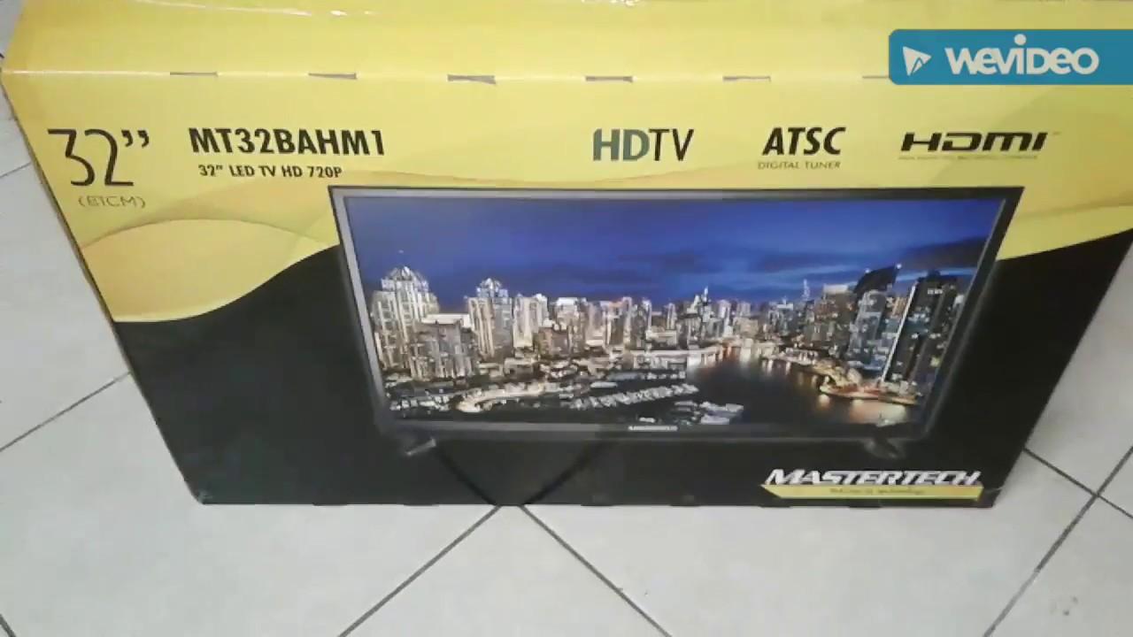Mastertech 32 Inch Tv Youtube