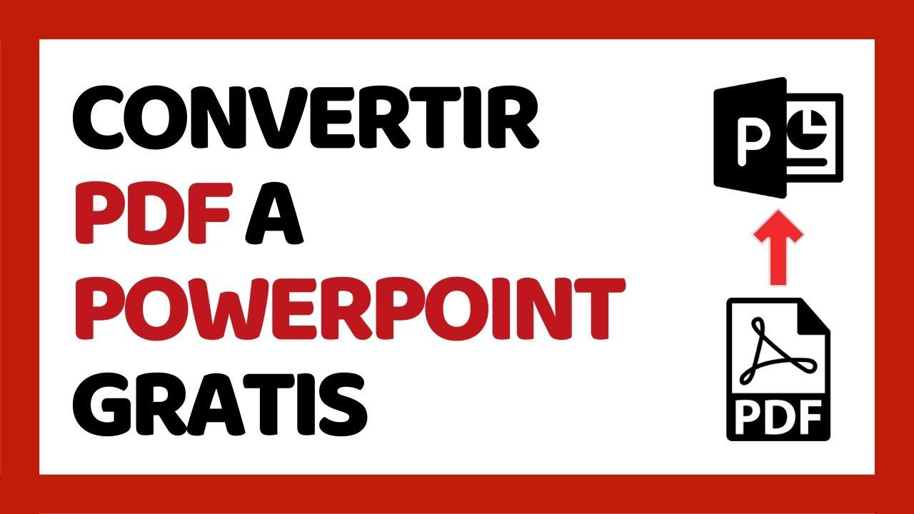 Convertidor De Pdf A Powerpoint Gratis