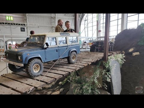 Indoor RC Scale Crawling Course RC-offi.net @ Hupicon 2019