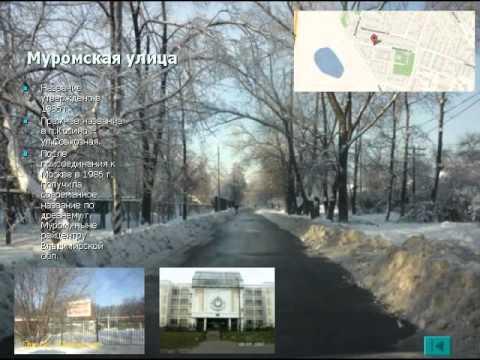 Улицы района Косино-Ухтомский
