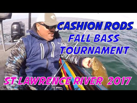 Cashion Rods Bass Fishing Tournament out of Clayton/ Cape Vincent, NY on the St Lawrence River