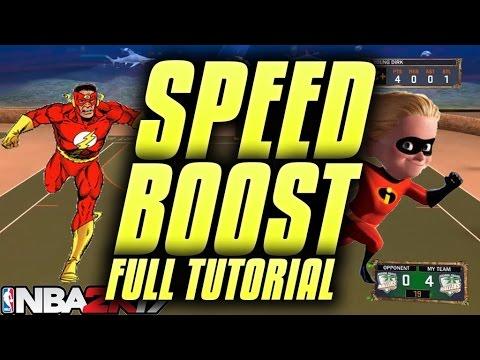 NBA 2K17 SPEED BOOST REAL FULL TUTORIAL!