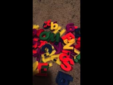 SomaSix Alphabet and Number Magnets