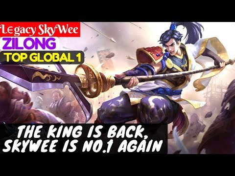The King Is Back, SkyWee is No.1 Again [Top Global  1 Zilong] | Lϵgacy SkyWee Zilong Mobile Legends