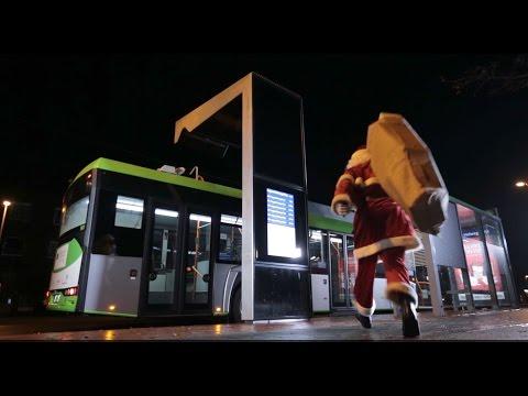Hohoho: Wie der E-Bus Weihnachten rettet