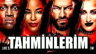 WrestleMania Backlash TAHMİNLERİM