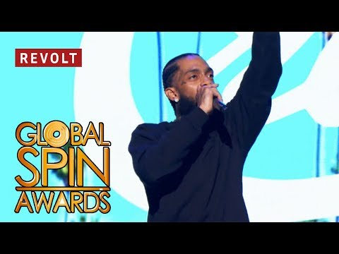 Nipsey Hussle (Full Performance) | Global Spin Awards