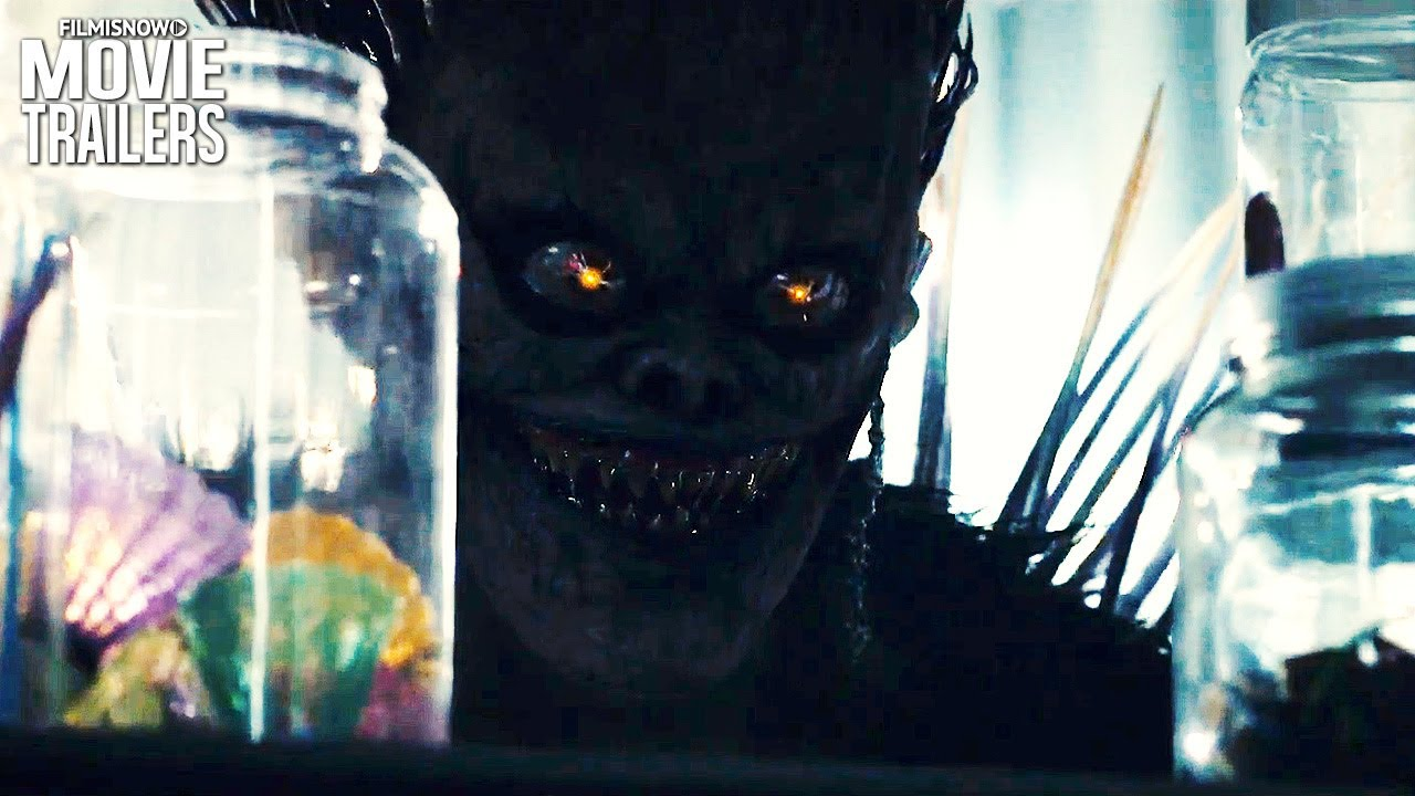 Death Note New Clip Light Meets Ryuk For Netflix Live Action Anime