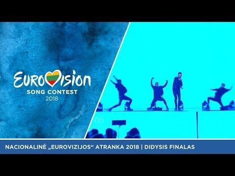 """Jurgis Brūzga - """"4Love"""" - Didysis Eurovizijos atrankų finalas 2018"""