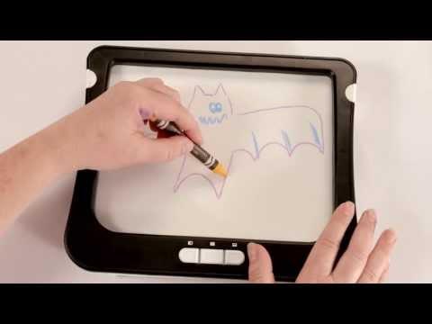 Up Dry Erase Board Demo Crayola® Light Youtube Yyb76gfv