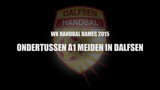 Handbal Dalfsen Jeugd A1 in actie.