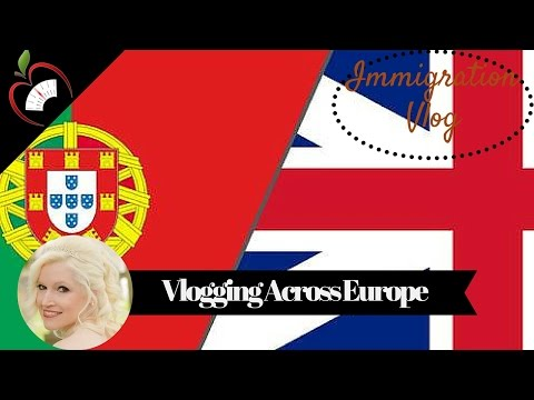 Vlog: My Immigration to Portugal from England