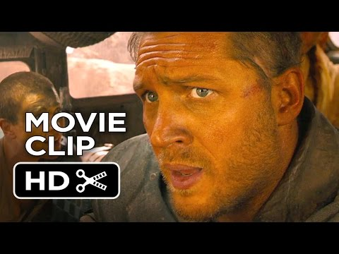 Mad Max: Fury Road Movie CLIP - Attacked (2015) - Tom Hardy Post-Apocalypse Action Movie HD