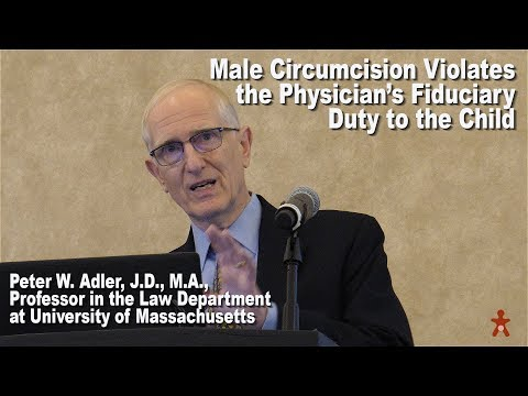 Male Circumcision Violates Physician's Fiduciary Duty to the Child
