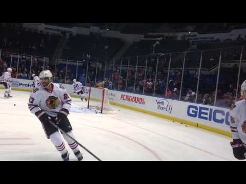 Blackhawks vs Islanders 1/2/13